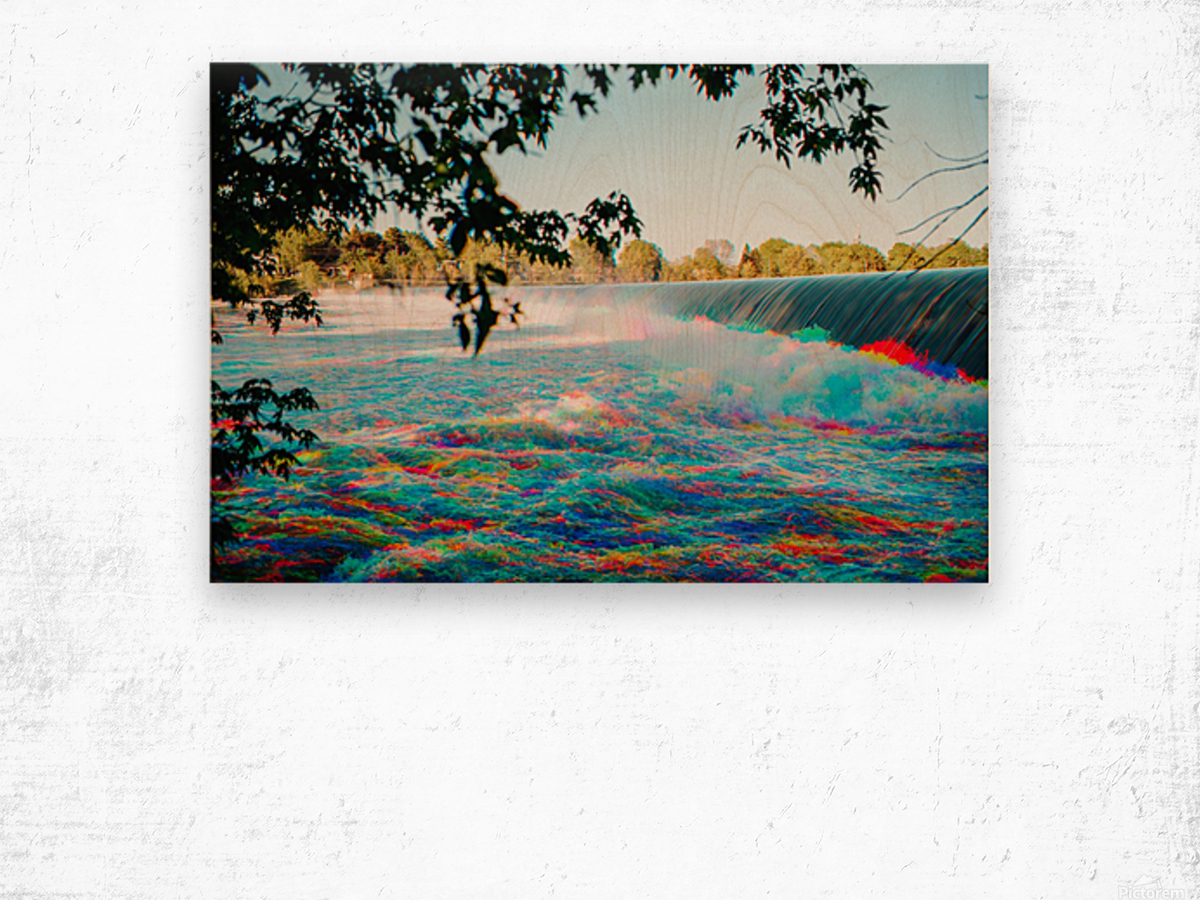 Chambly - Colorflow Impression sur bois