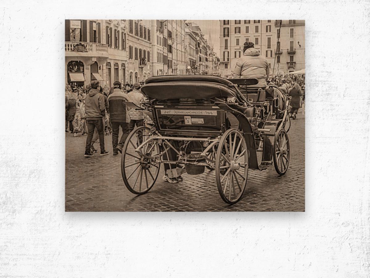 Piazza di Spagna   Rome, Italy Wood print