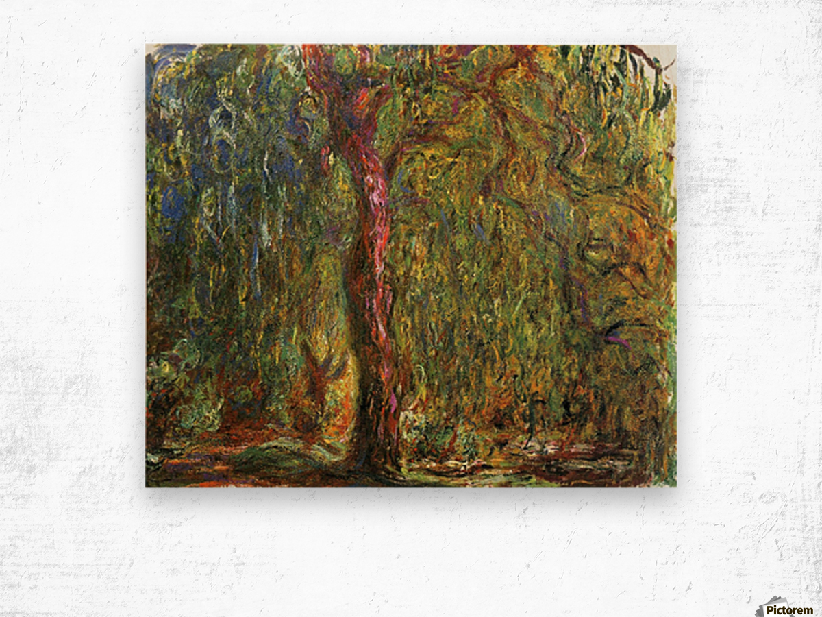 The Willow Wood print