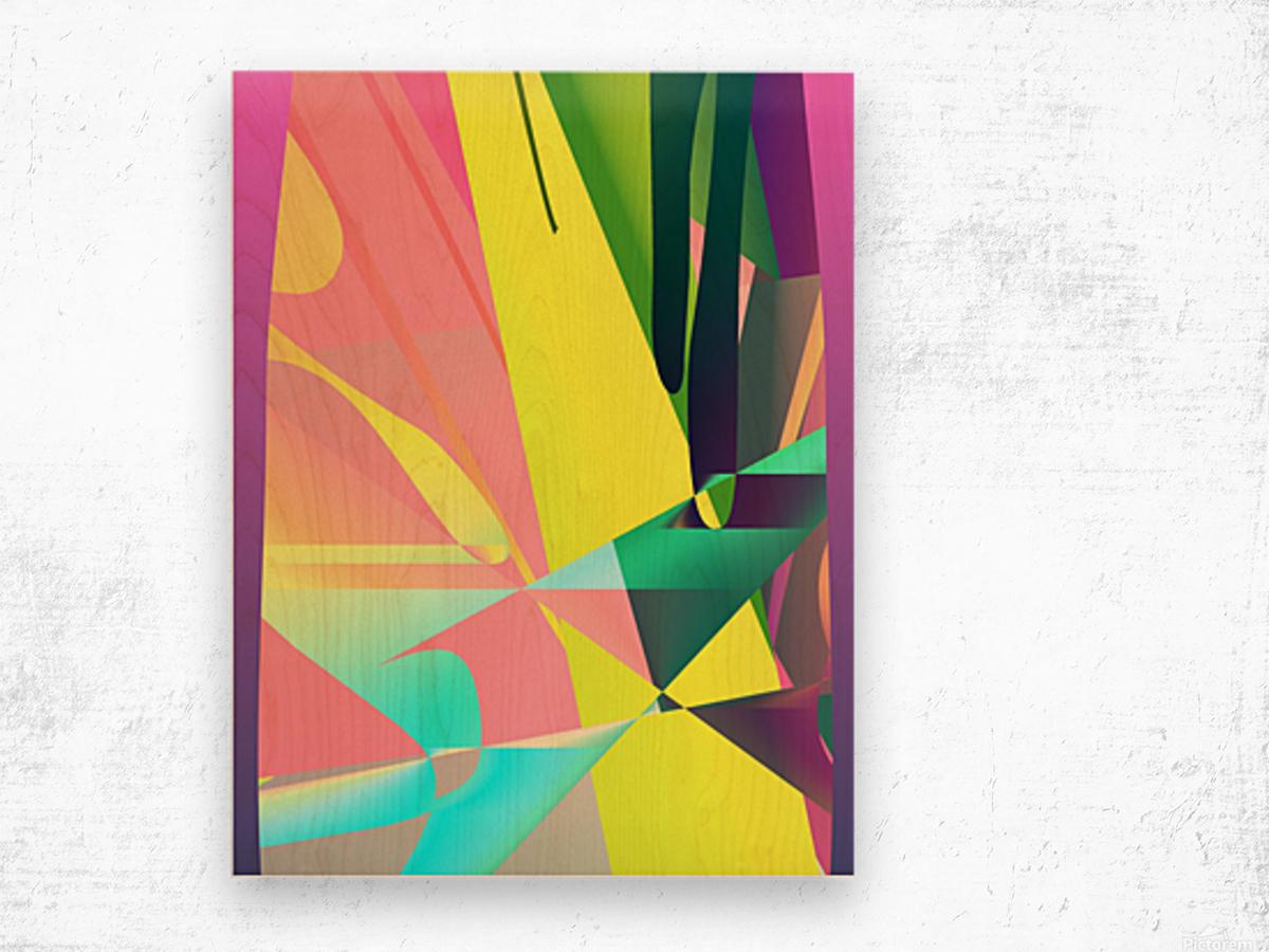 reach out 82818 H Wood print