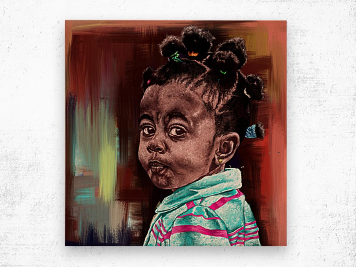 child  Wood print