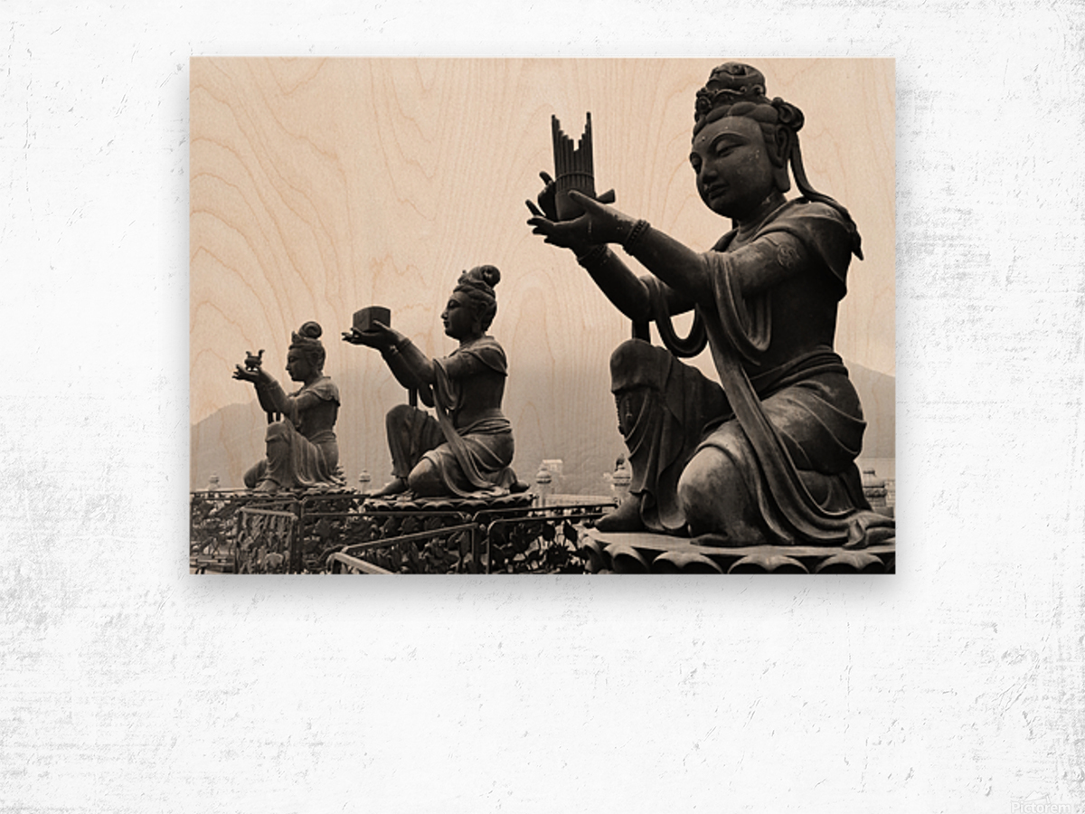 Offer for Buddha Wood print