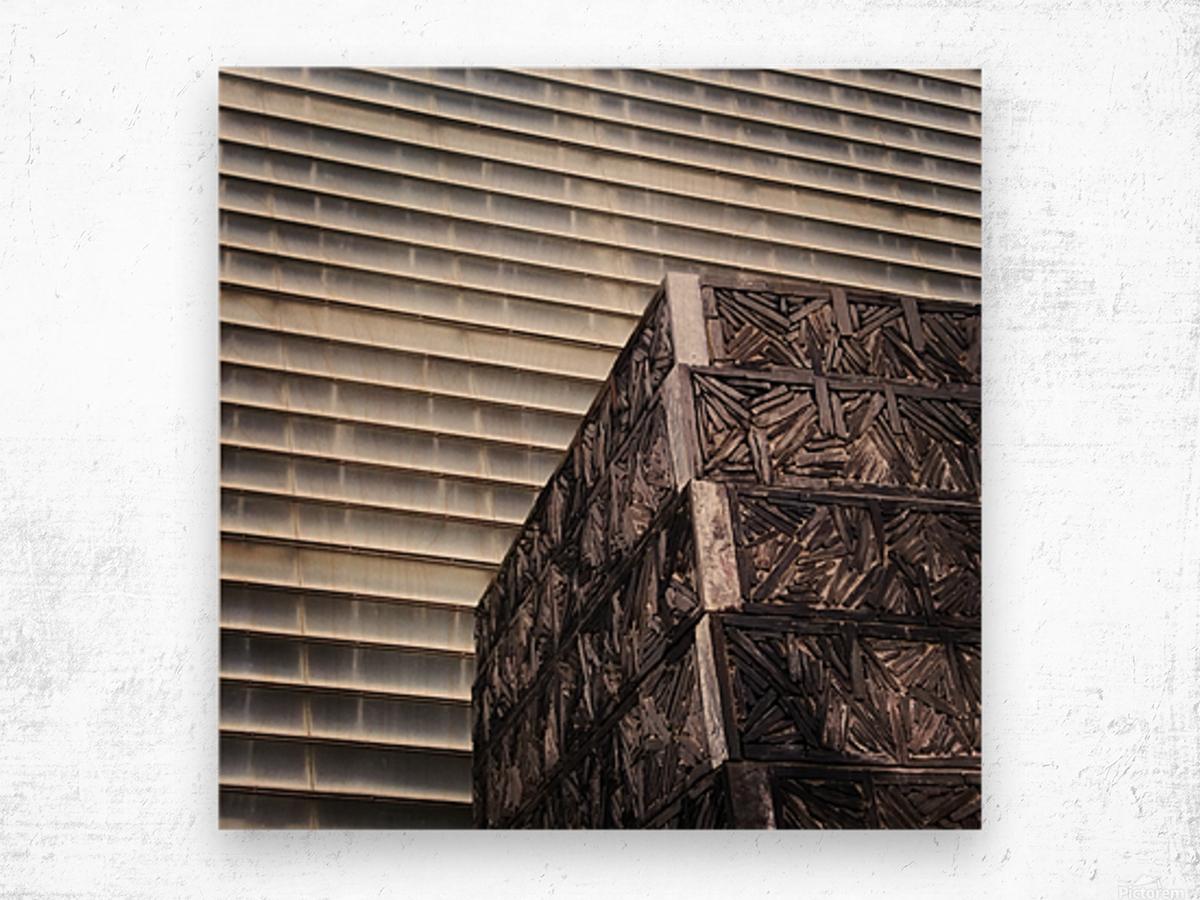 Kursaal Wood print