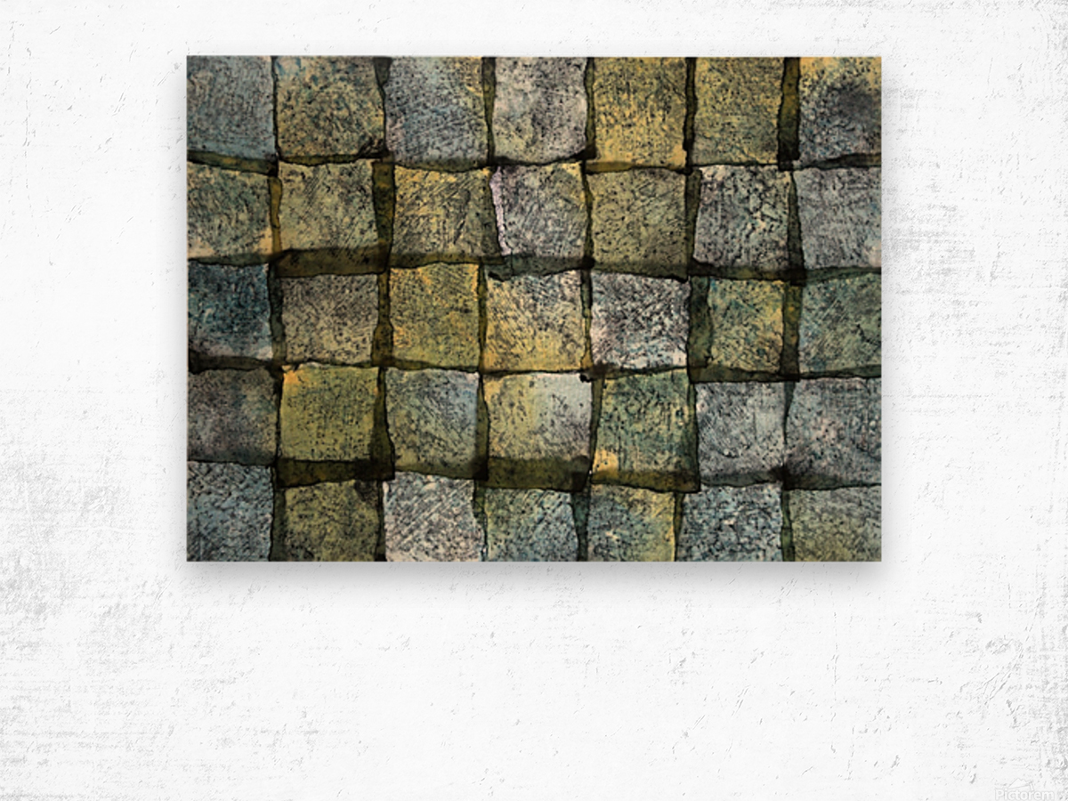 The order is square - Art Photo Impression sur bois