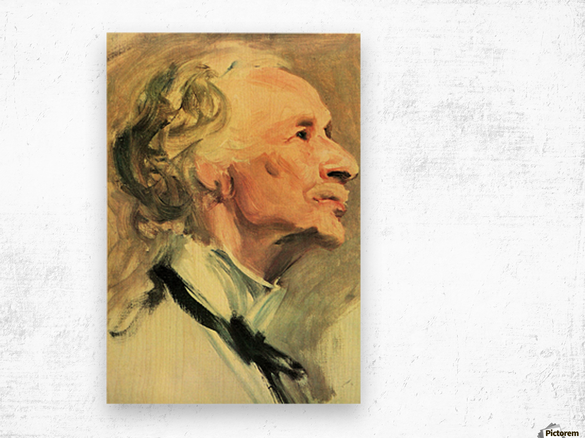 Coventry Patmore by John Singer Sargent Wood print