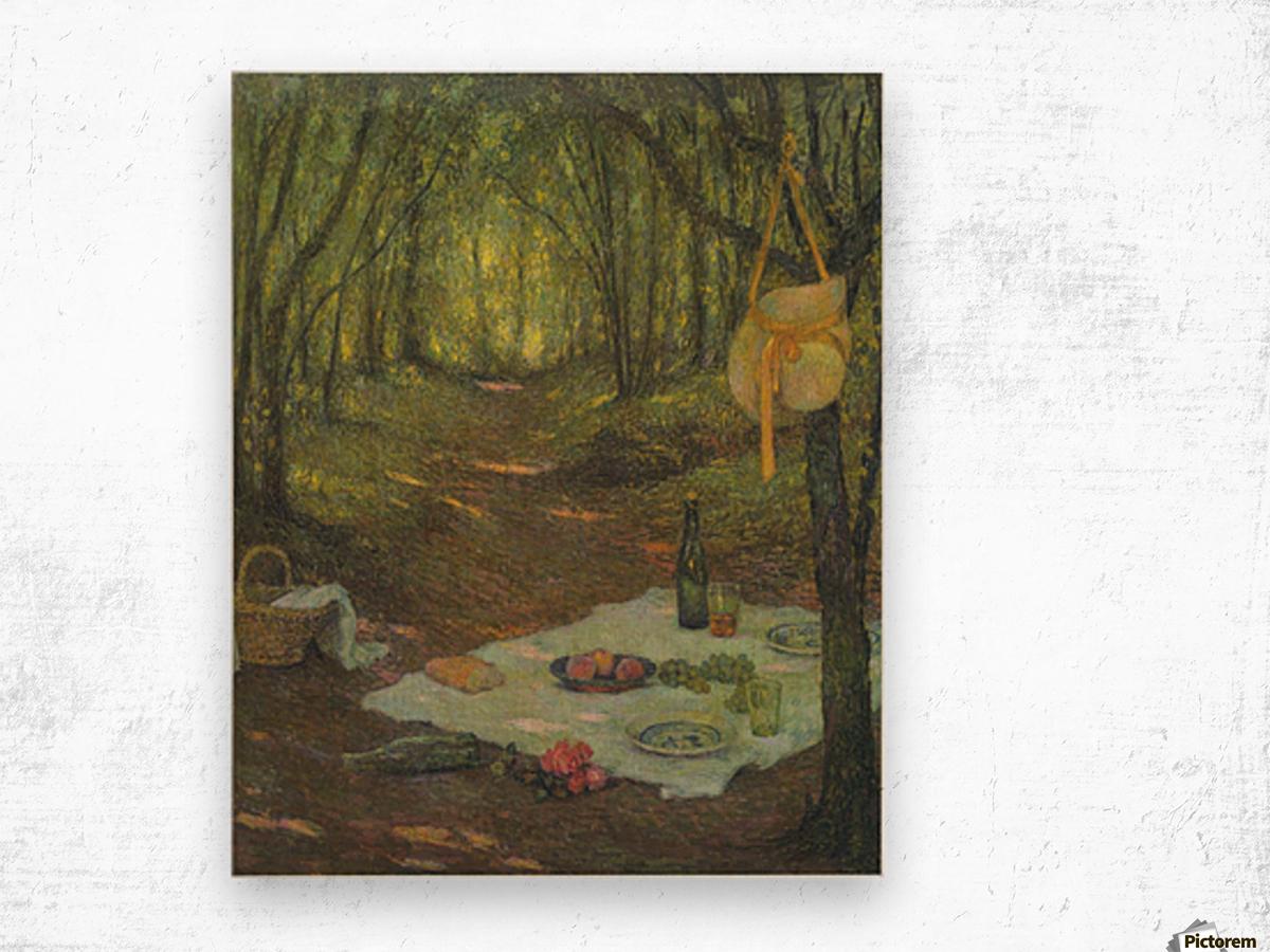 The Pavillion, Gerberoy Wood print