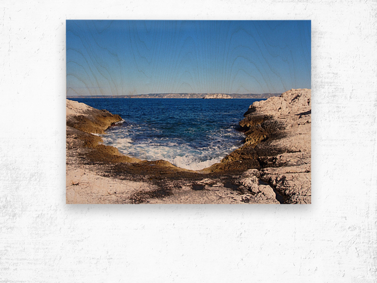 Turning Tide Wood print