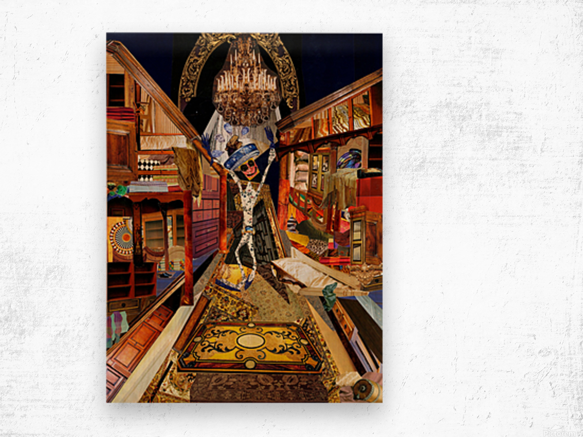 The Emperors New Clothes Wood print