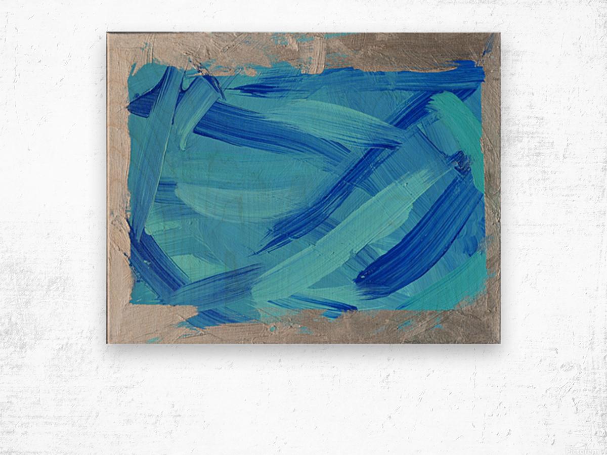 Blue. Walker W. Wood print