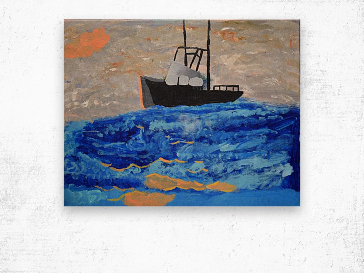 Tug Boat. Davey K Wood print