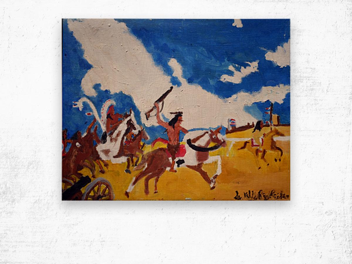 Last Ride. Kelly R. Wood print