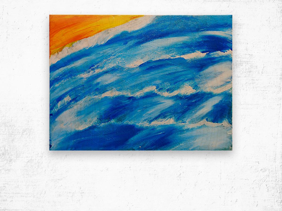 Walking on water. Jourdan S Wood print