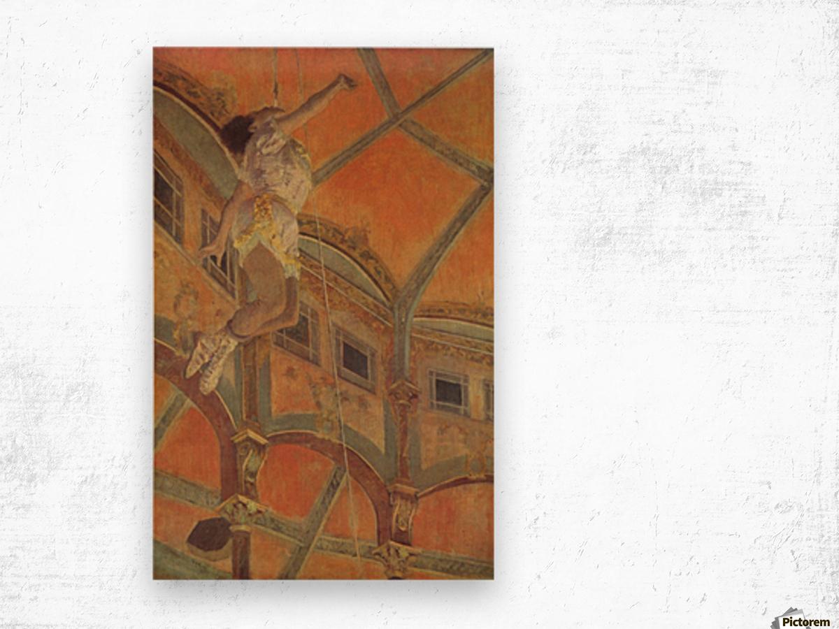 Miss La La at the Cirque Fernando Wood print