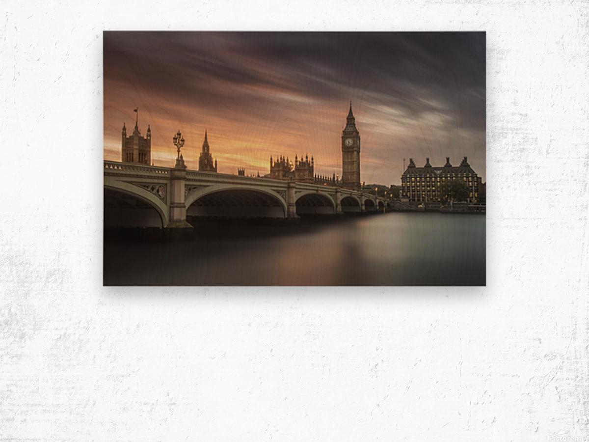 Big Ben, London Wood print