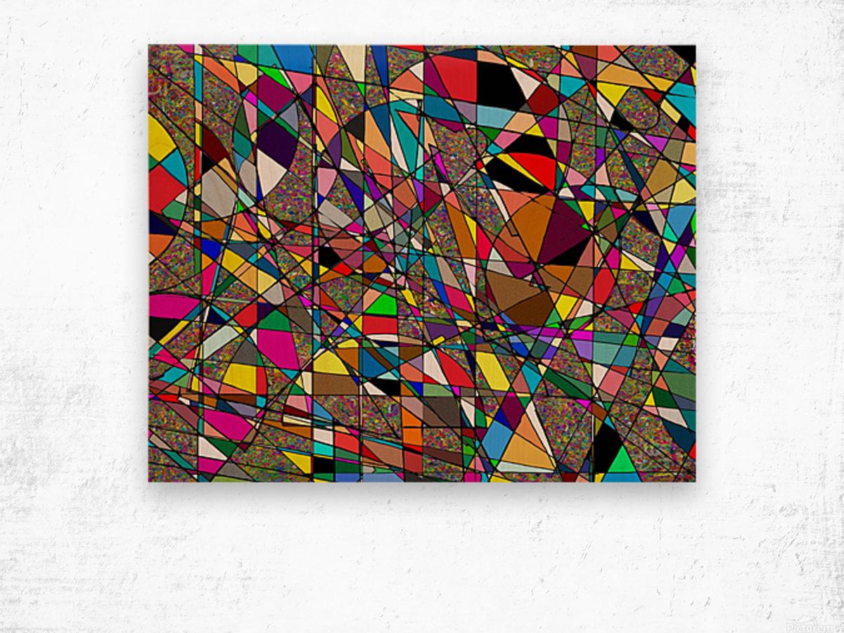 Jazzotonic Wood print