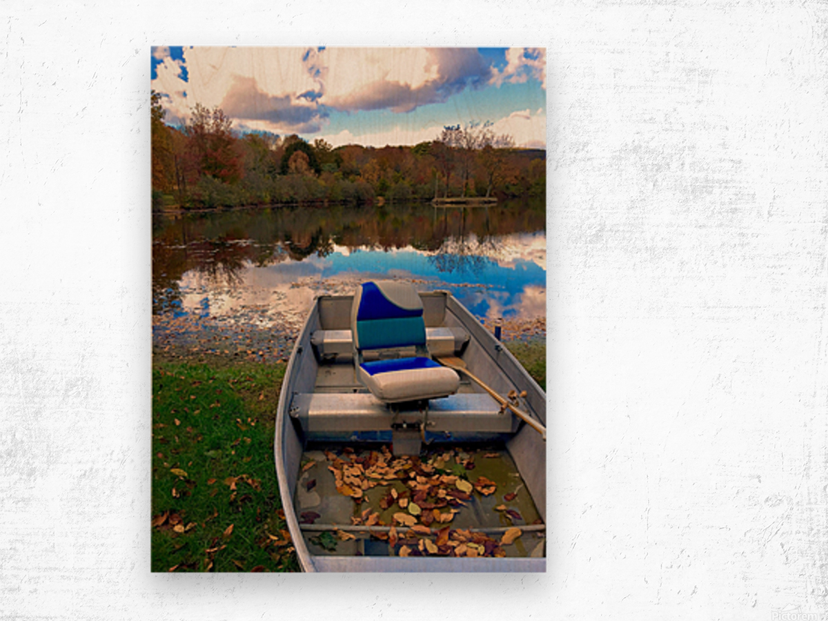 Shartlesville Dinghy Wood print