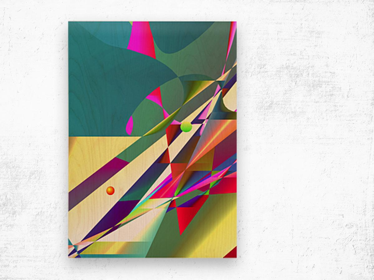 set sail to the future 11.12f3a 18 Wood print