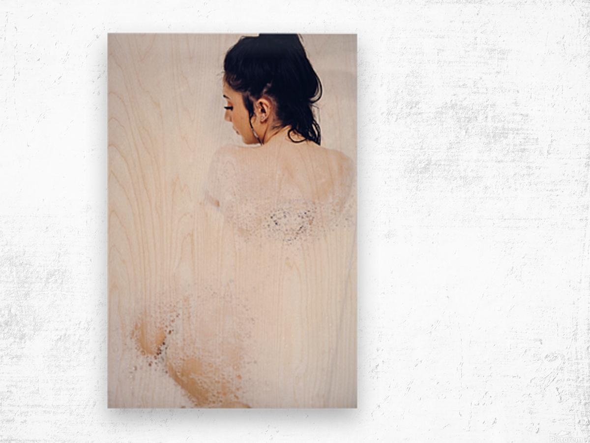 Suds Wood print