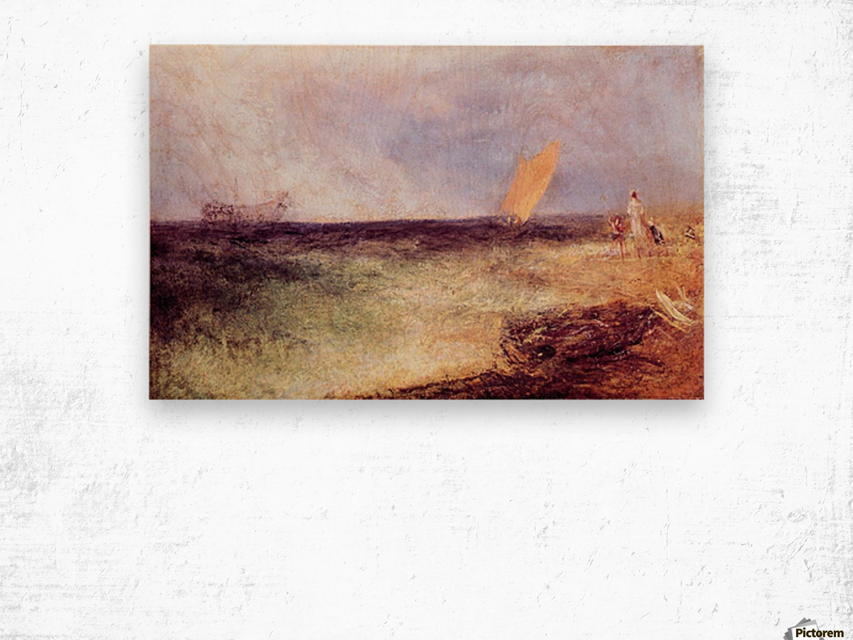Outside of Ramsgate by Joseph Mallord Turner Wood print