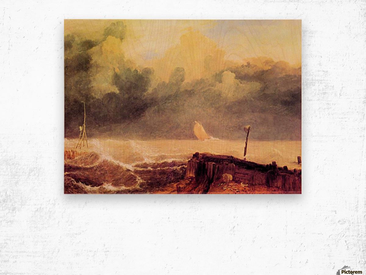 Port Ruysdael by Joseph Mallord Turner Wood print