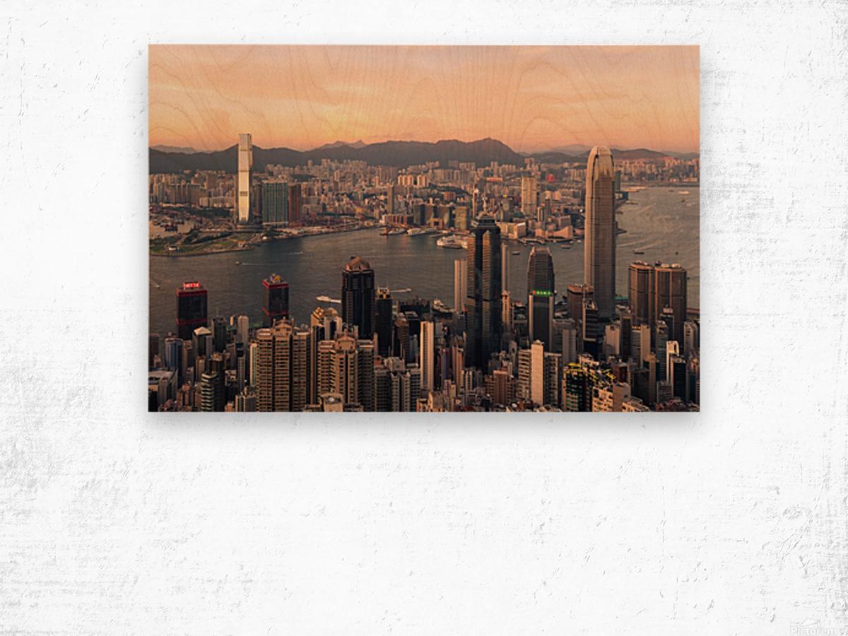 HONG KONG 08 Wood print