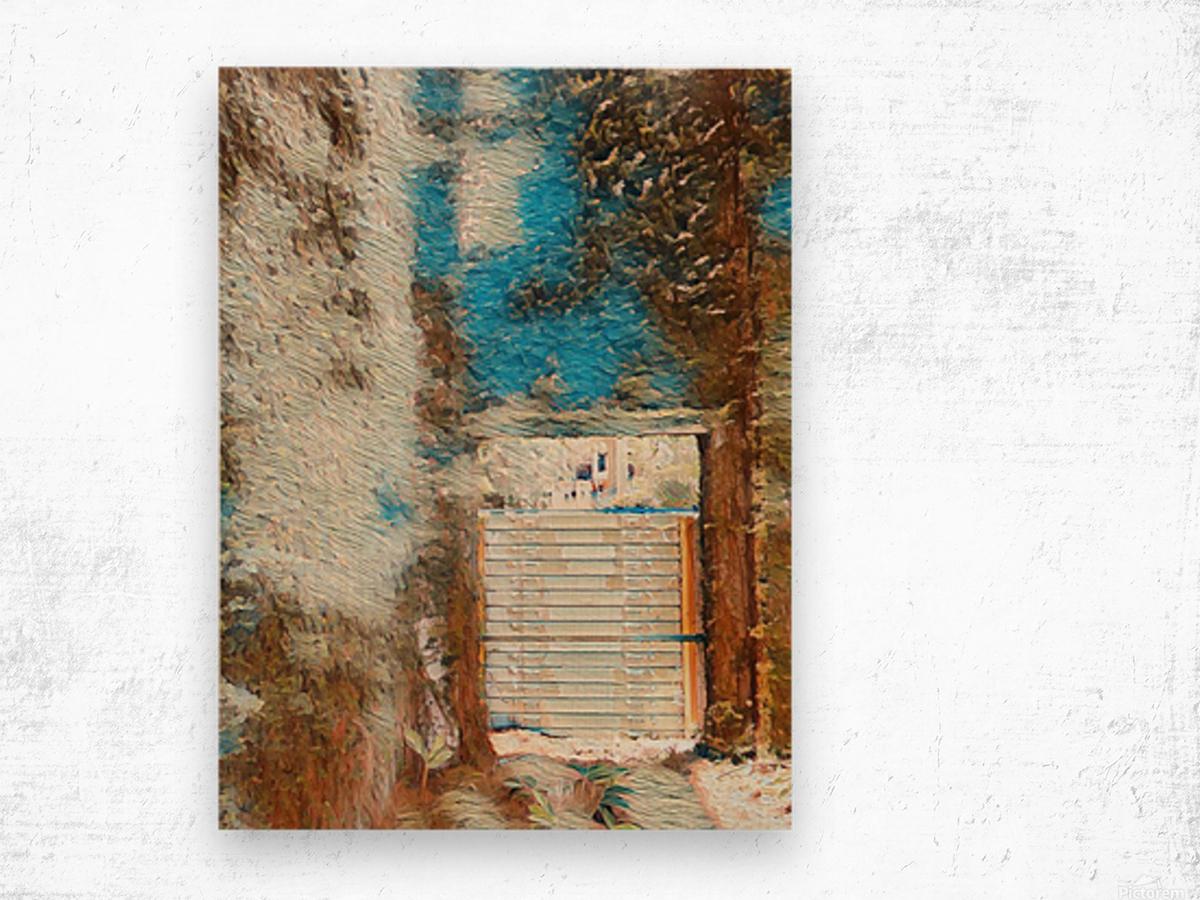 Outdoor II Wood print