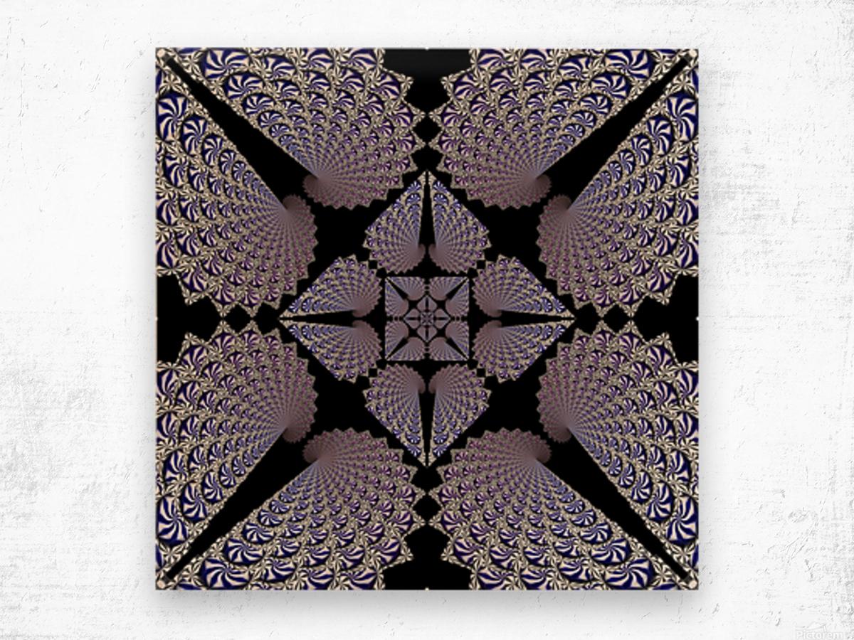 Twisted Mint Madness Wood print