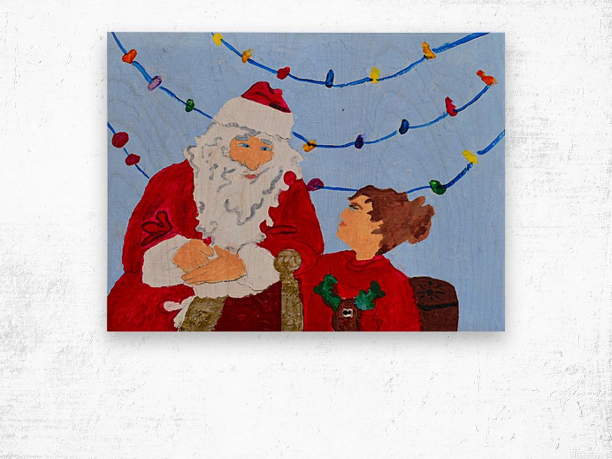 Christmas Eve. David K Wood print