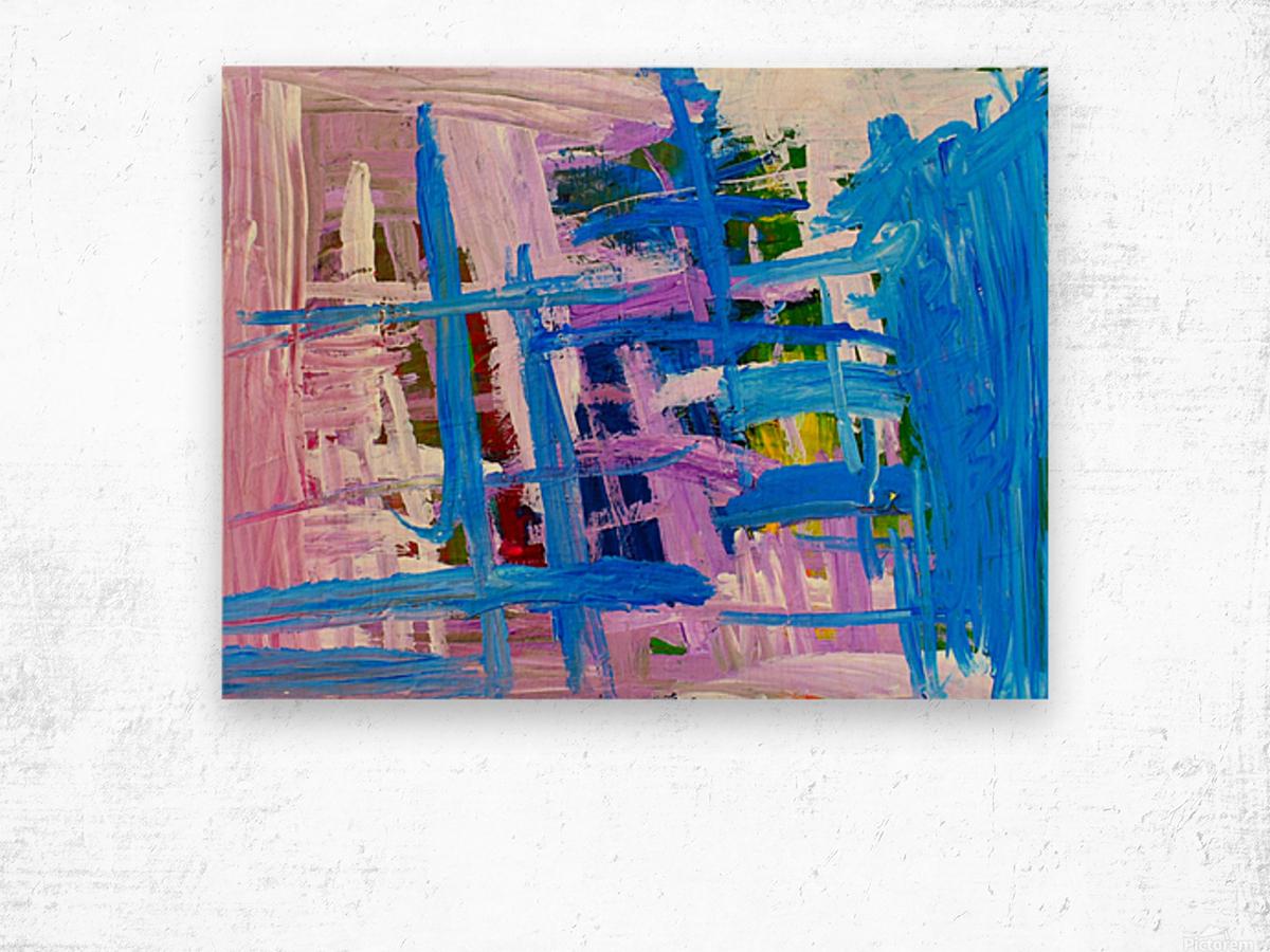 Blue Cascade. Katie J Wood print