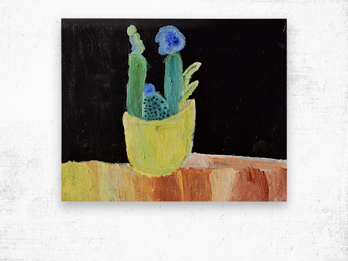 Blue Flower. Marie H Wood print
