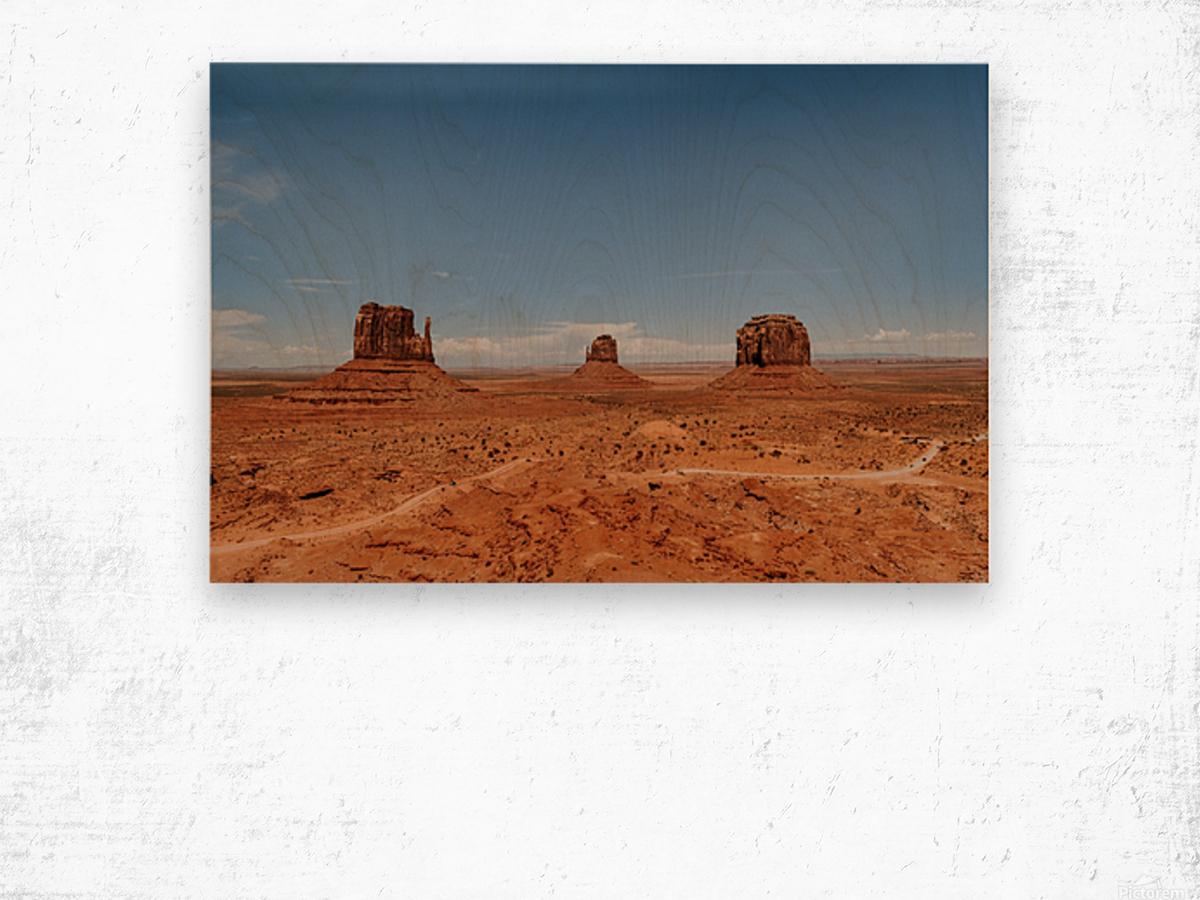 Monument Valley Impression sur bois