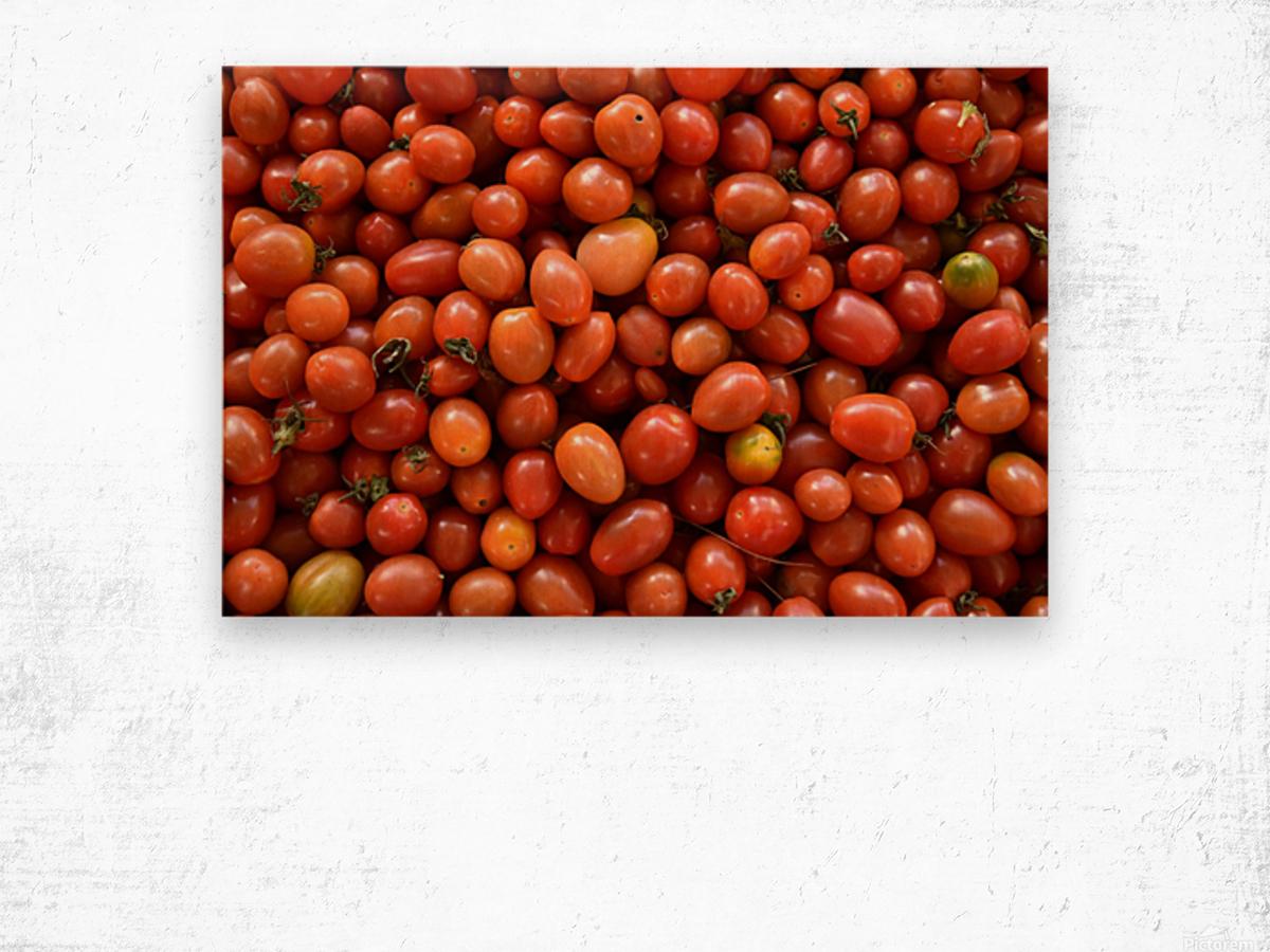 Food - Fruits - 004 Wood print