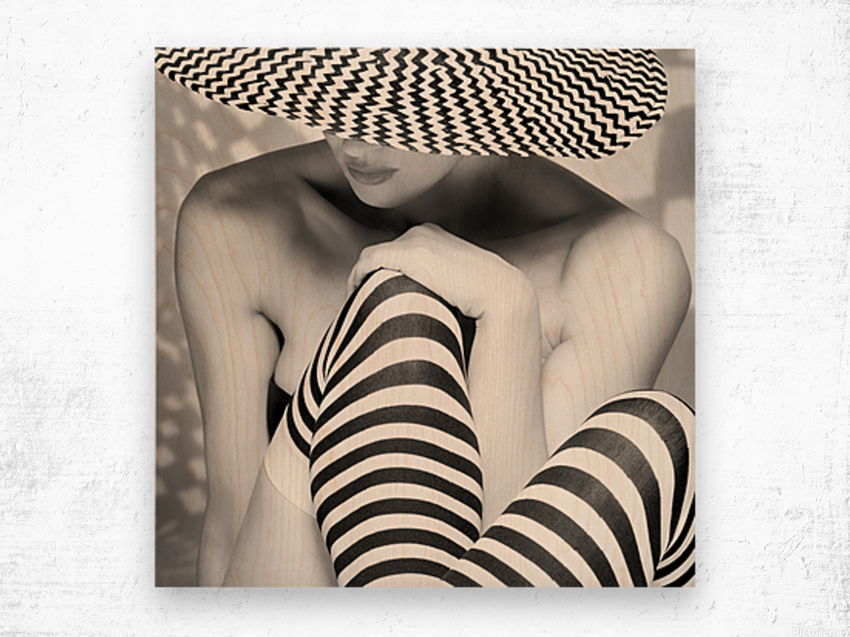 Zagging that Zig Wood print