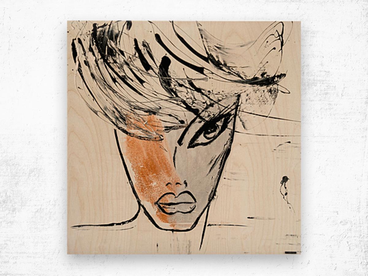 3464 Wood print