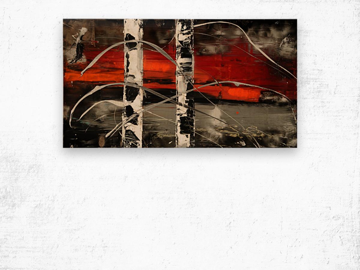 3424 Wood print