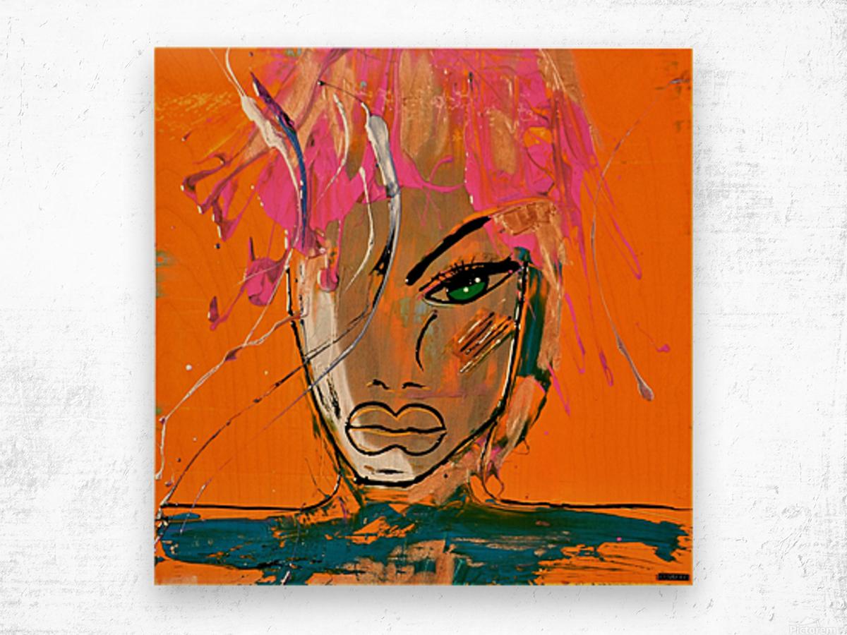 3467 - danika Wood print