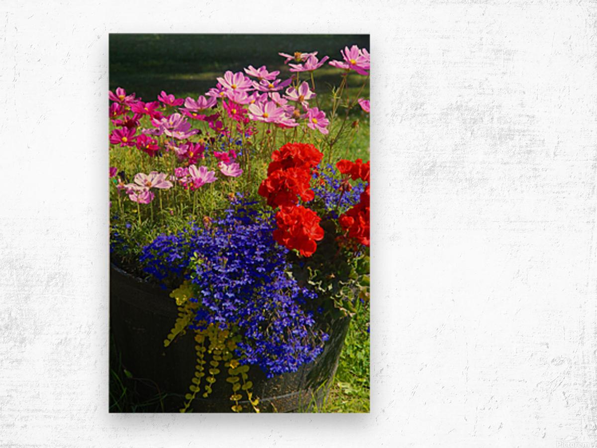 Alaskan Bouquet Impression sur bois