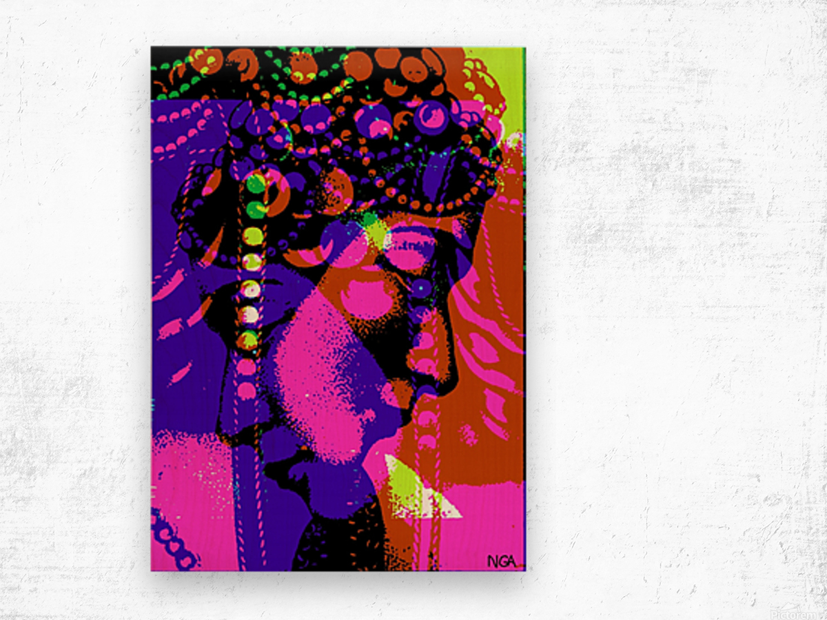 2 Heads are Better than One  -  by Neil Gairn Adams Wood print