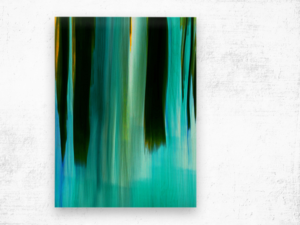 Moving Trees 40 Portrait Format 250px Wood print