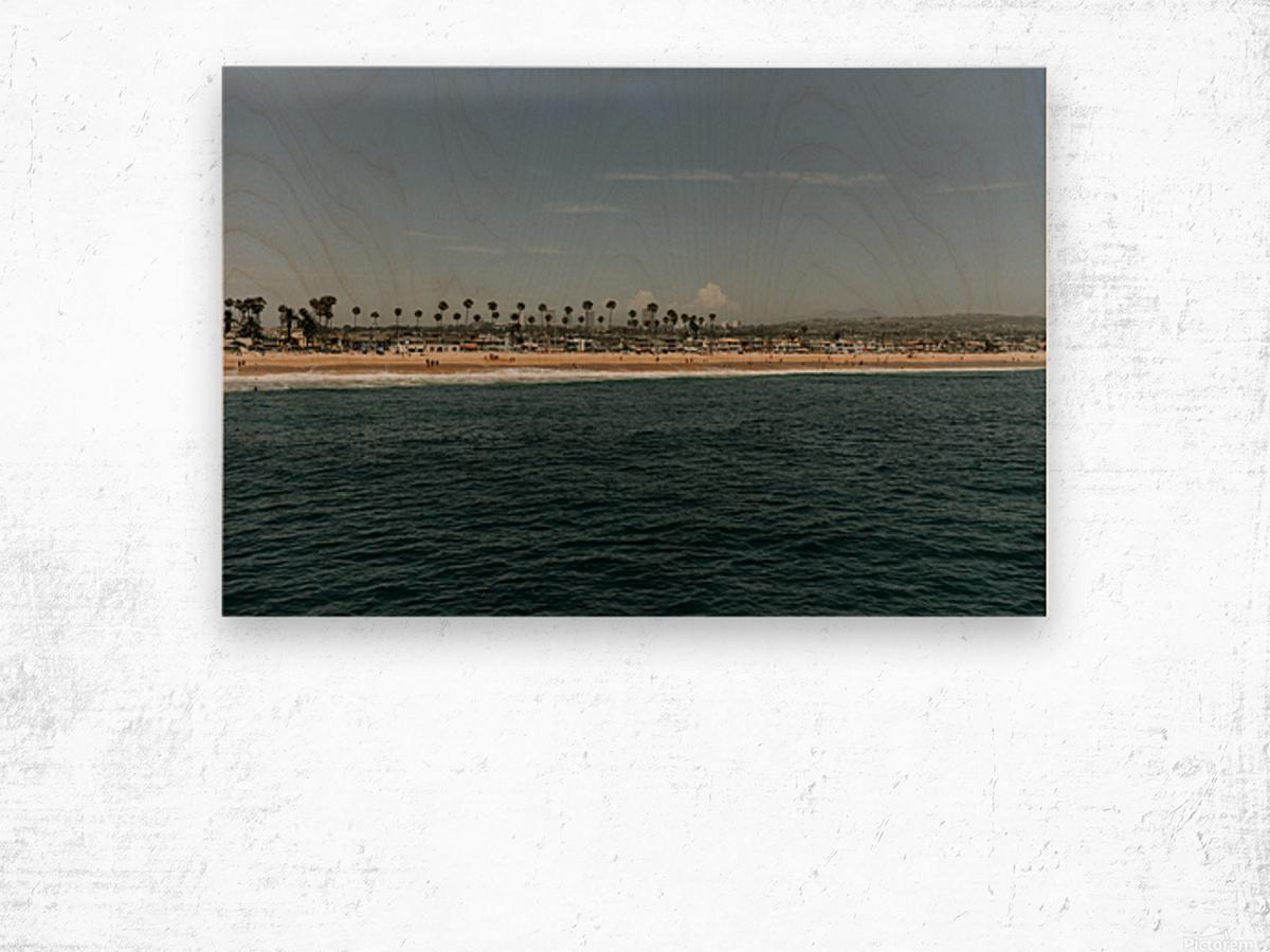 Newport Beach California Wood print