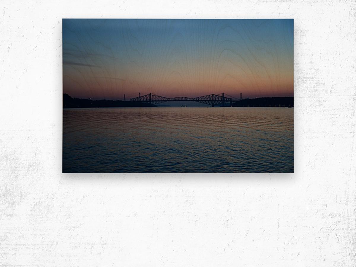 Le pont de Québec a 100 ans Impression sur bois