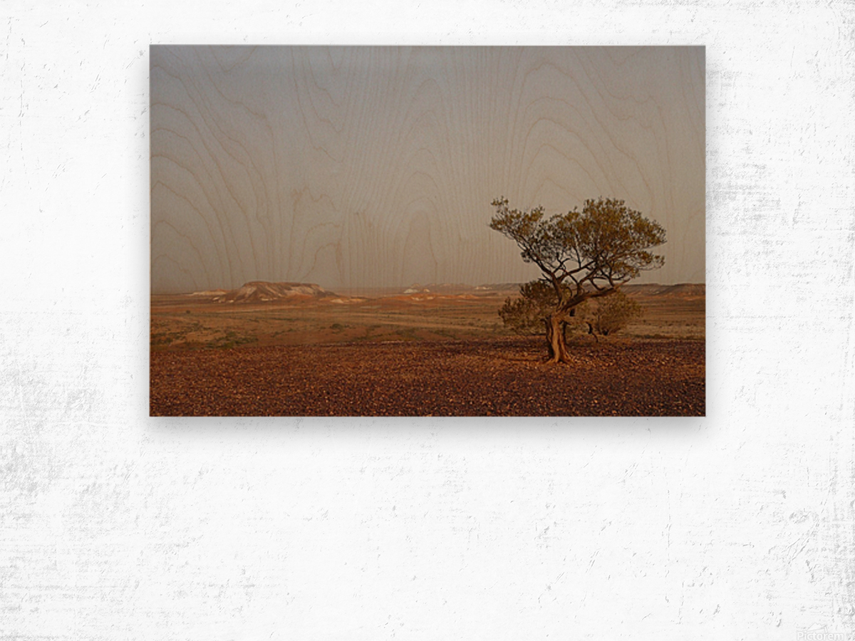 The breakaways South Australia Impression sur bois