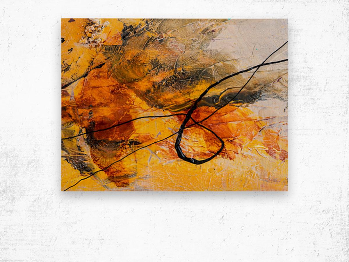 Sophia Trois Wood print