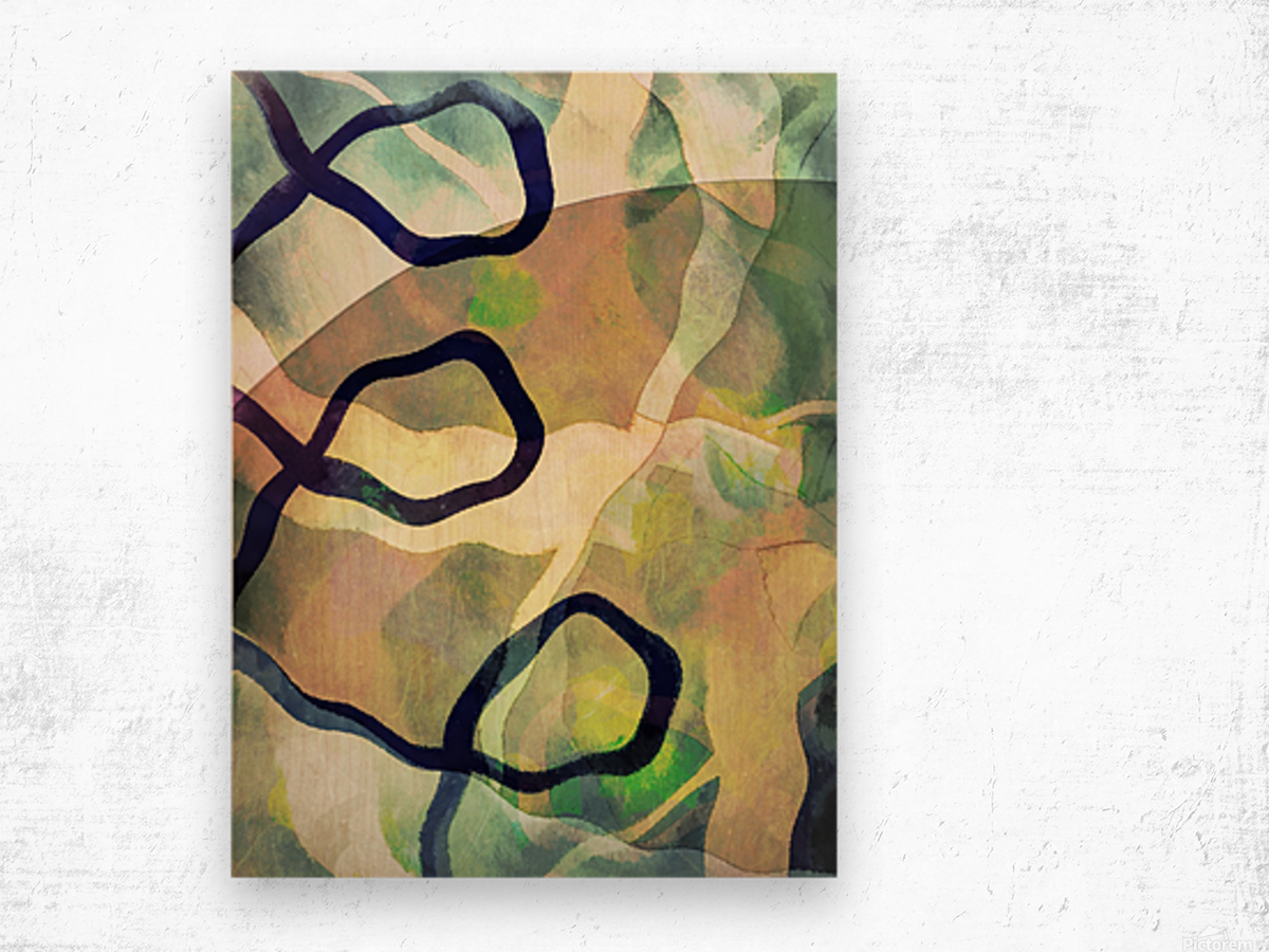 Caprice Wood print