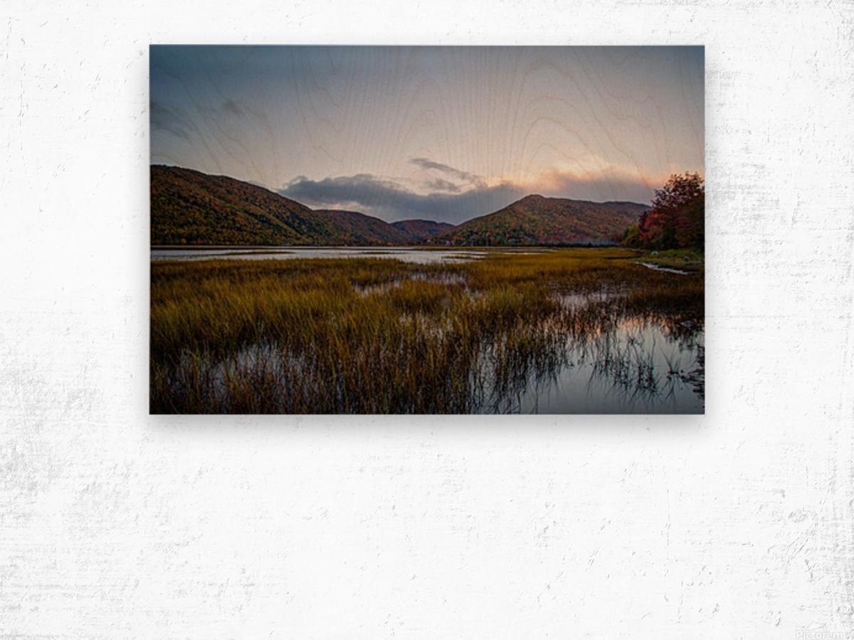 Ingonish valley  Wood print