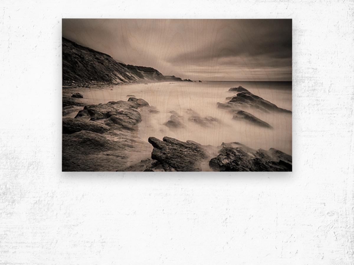 Sea of ghosts Wood print