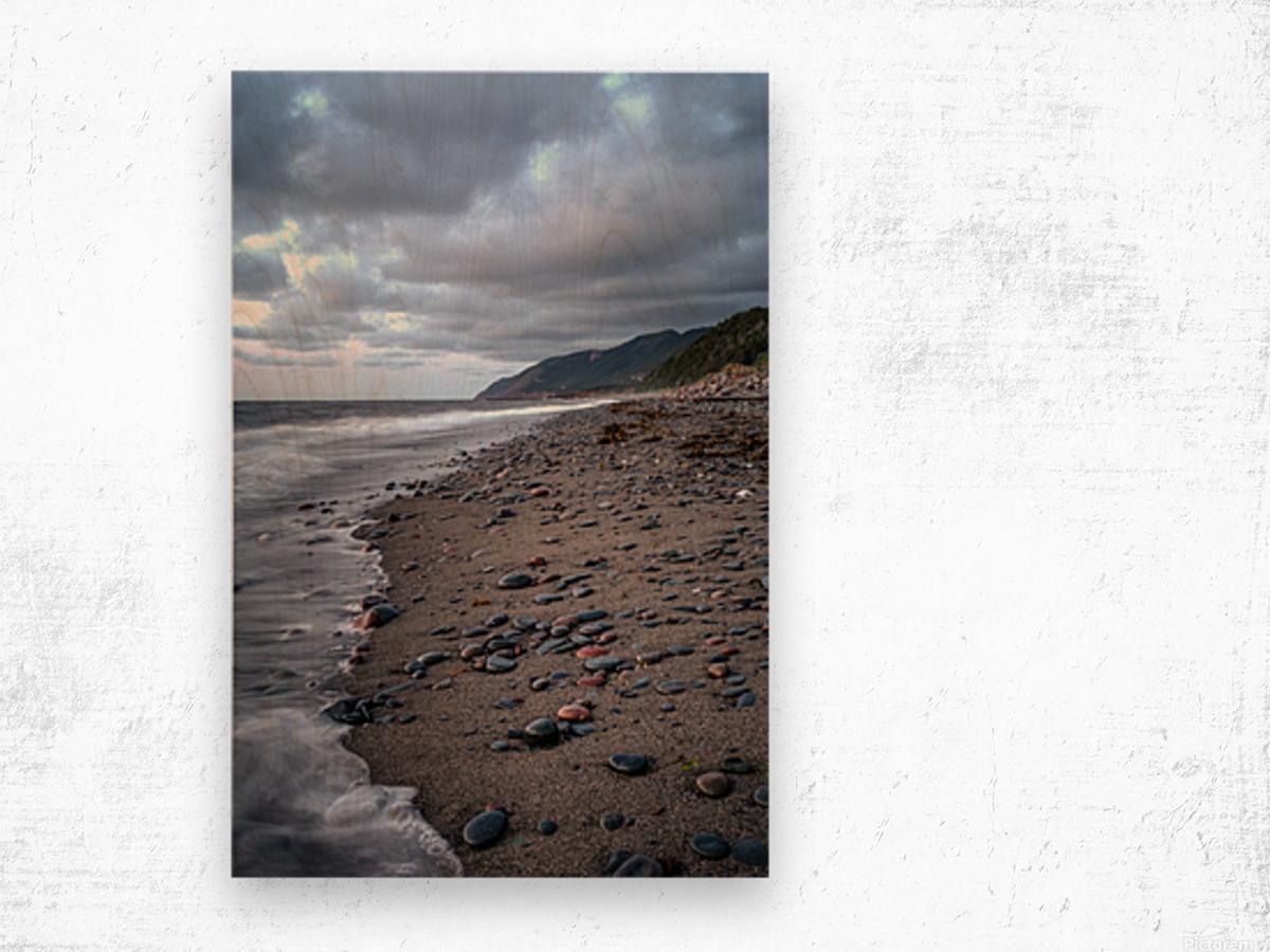 Cape Breton Shore Wood print