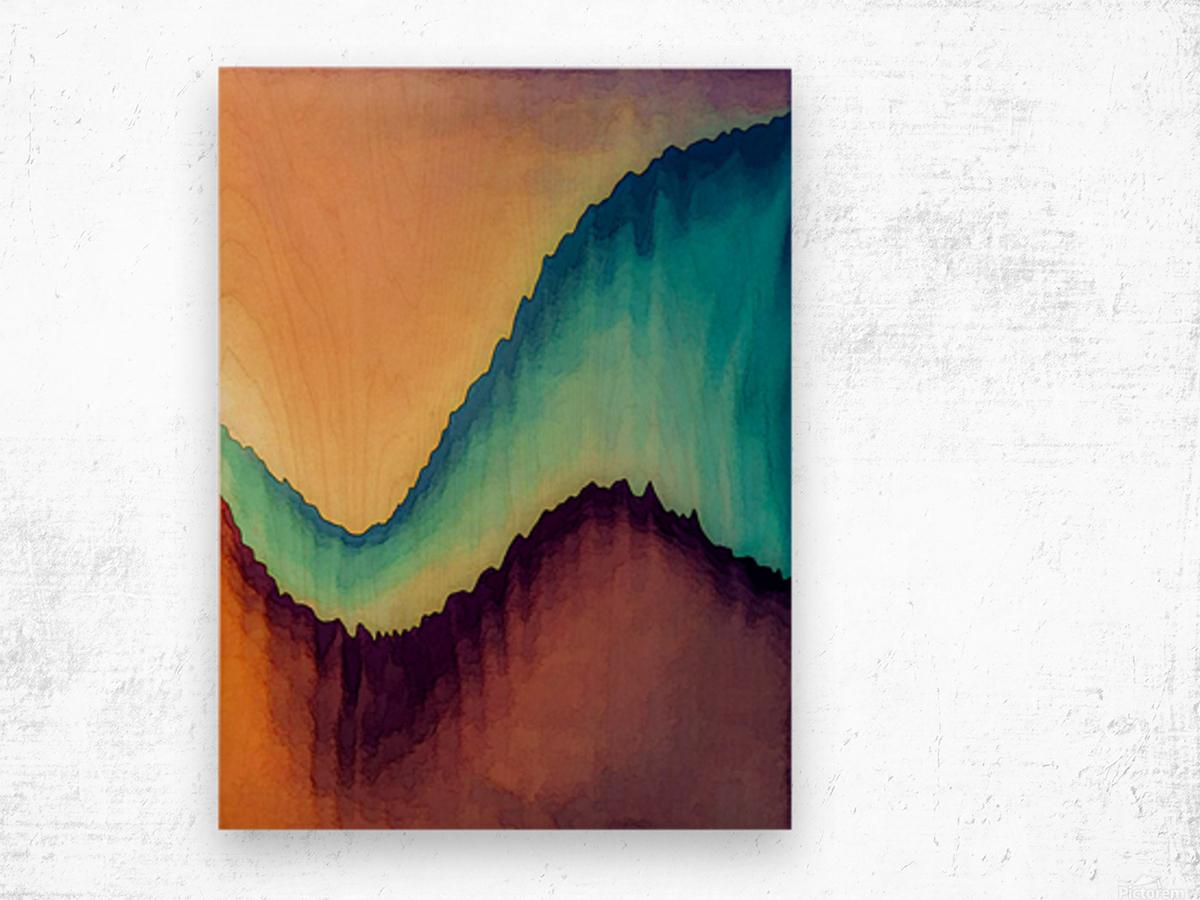 Proboscidean Dreamscape Wood print