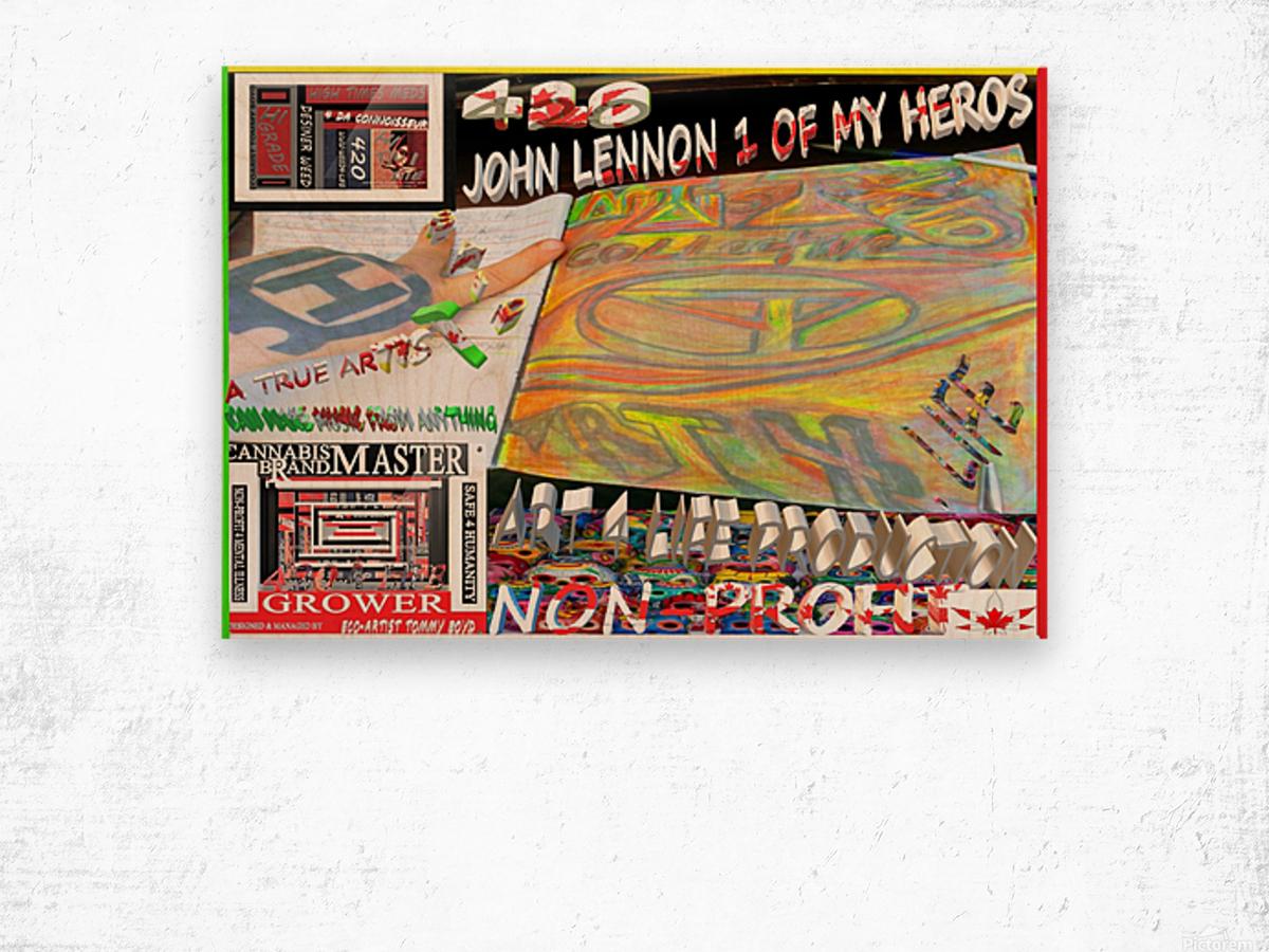 ECO ARTIST TOMMY BOYDART 4 LIFE ART WORK SPONSORS 1 Wood print
