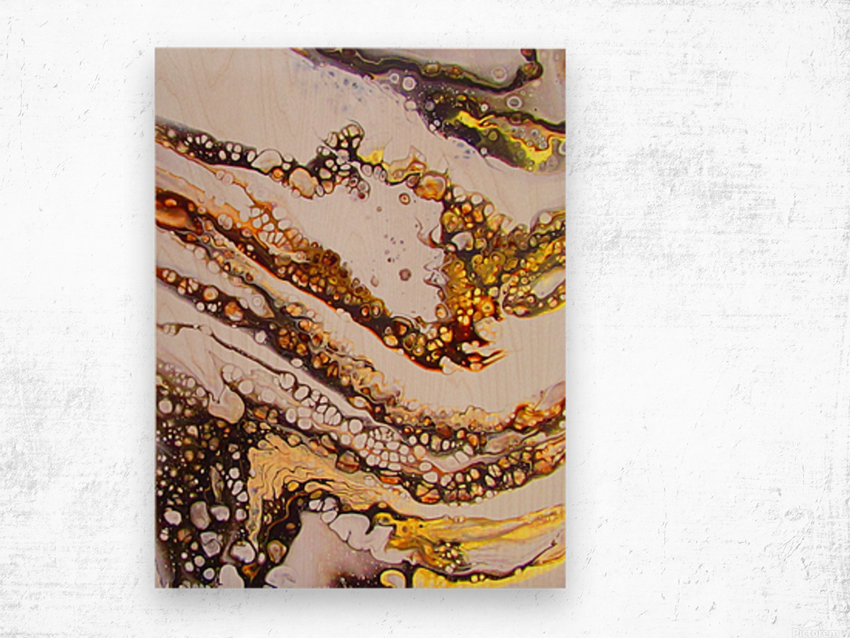 Trails of the Earth  Wood print